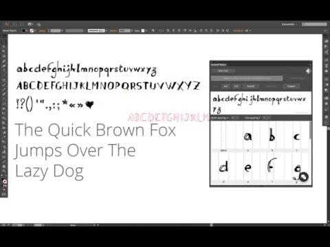 Fontself Maker, el software para crear tipografías a partir de lettering, ya está disponible