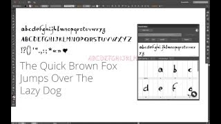 MAKE FONTS IN ILLUSTRATOR