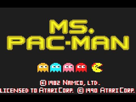 Atari Lynx Longplay [34] Ms. Pac-Man
