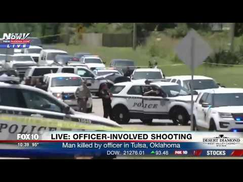 FNN: Deadly Officer-Involved Shooting in Tulsa, a Possibly Mentally Ill Man Armed with Knives