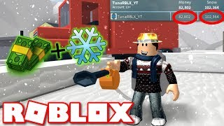 How to get Snow and Money FAST in Snow Shoveling Simulator ROBLOX *GLITCH*