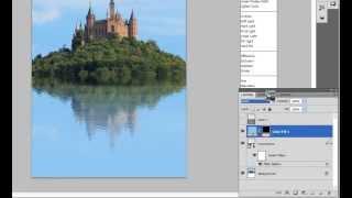 Как сделать реалистичное отражение в воде с помощью Photoshop