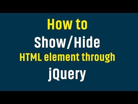 How To Hide / Show Or Toggle Html Image / Div Through Jquery