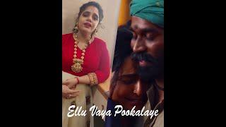 Asuran - Ellu Vaya Pookalaye - Singer Saindhavi Heart Melting Voice - Dhanush - GV Prakash