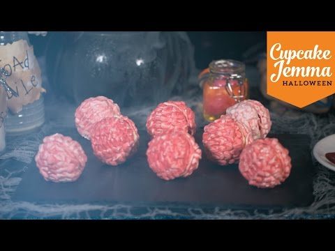 Generate How to Make Zombie Brains | Cupcake Jemma Halloween Special Pictures