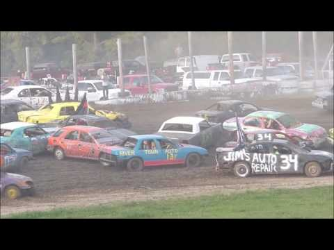 Grand Rapids Speedway Enduro Crash Compilation 2016
