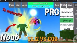 Noob vs Pro | Troleo | Noob salva al server | Dragon Ball Rage Roblox