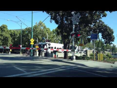 Sunnyvale Valley Transport Authority (VTA) rail
