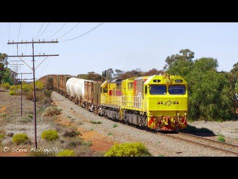 Trains around the Kalgoorlie region Part 1