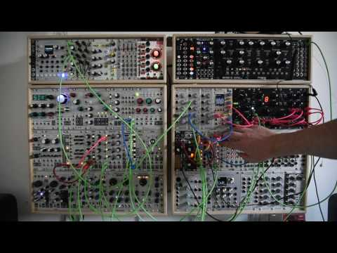 Stranger Things inspired modular synthesizer patch - Erica Black Wavetable VCO
