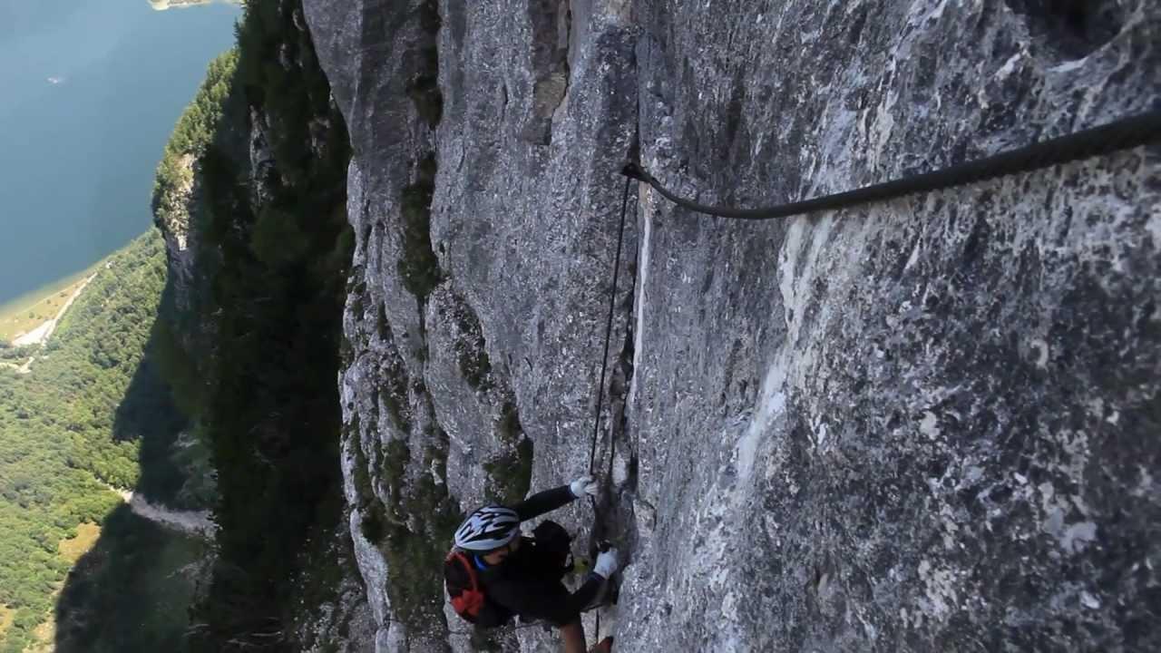 Klettersteig Seewand : Seewand klettersteig youtube