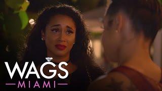 WAGS Miami | Darnell Nicole Cries in the Club Over Fiance Reshad Jones | E!