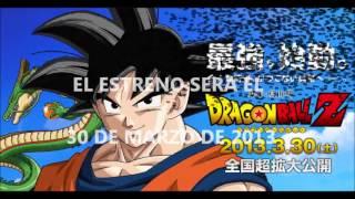 Dragon ball Z ''La Batalla de los Dioses'' (Trailer 2)