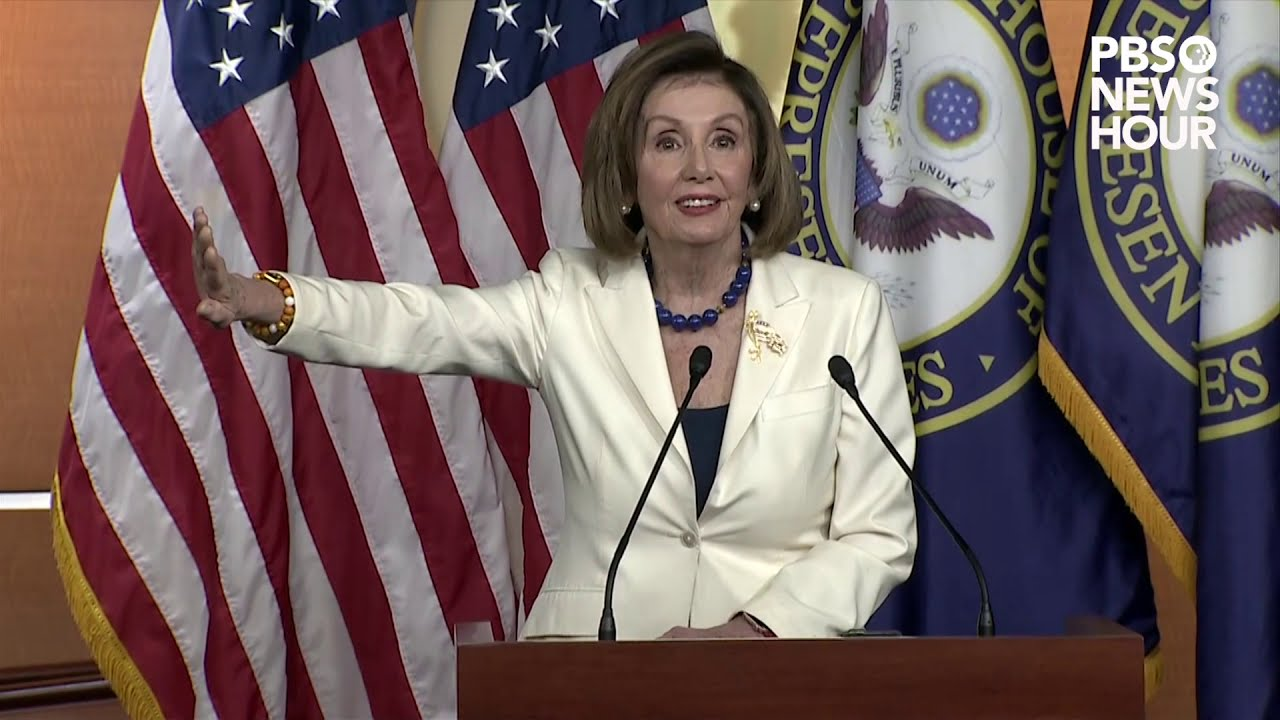 WATCH: Pelosi fires back at reporter who asks if she 'hates' Trump