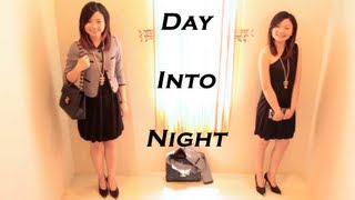 Day into Night Fast Outfit Transition-work, dinner, date, and party lookbook Thumbnail