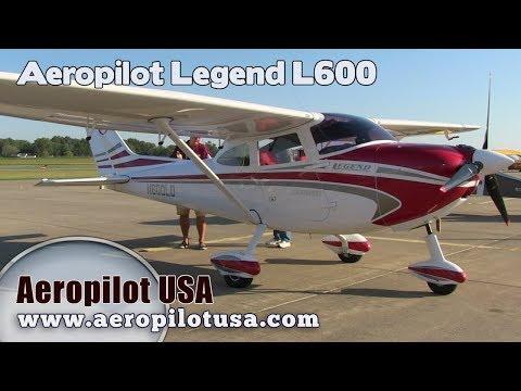 Legend L 600 LSA, L600 Light Sport Aircraft from Aeropilot USA Aircraft Review.