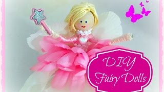 DIY: How to make  Fairy Dolls
