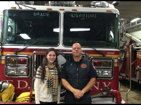 Interview with Mike Merced, a New York City Fireman
