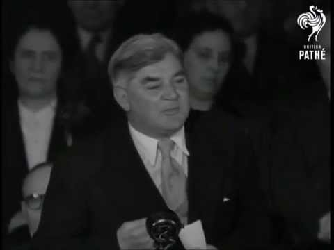 Nye Bevan - 1953 Labour Conference - A socialist foreign policy