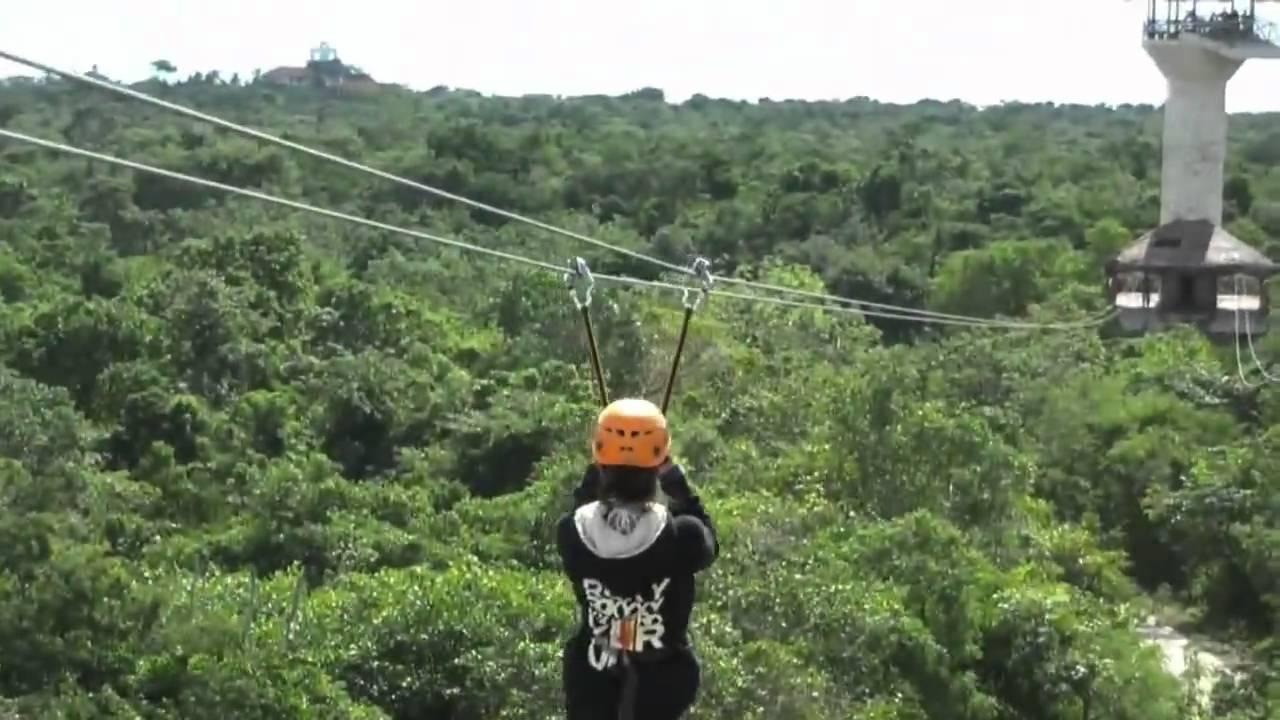 XPLOR Zip-line - Cancun Mexico on