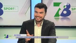 Escrime : les fines lames débutent tôt à Saint-Germain-en-Laye