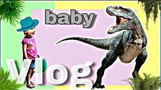 Детская игровая в Корее! Динозавры;) Детский влог!!!