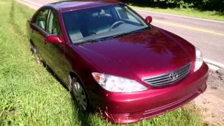USA КИНО 210. 2006 Toyota  Camry  LE цвет гнилой вишни. FOR SALE.
