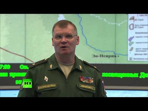 Авиация РФ нанесла точечные удары по 1458 объектам террористов ИГ в Сирии
