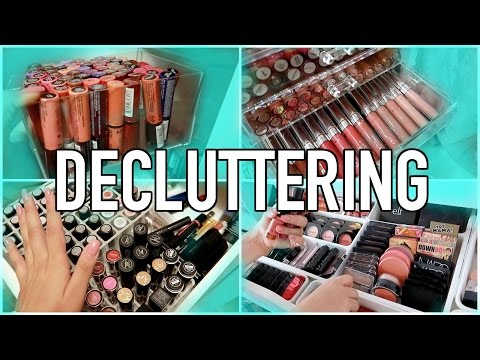 Decluttering My Makeup Collection