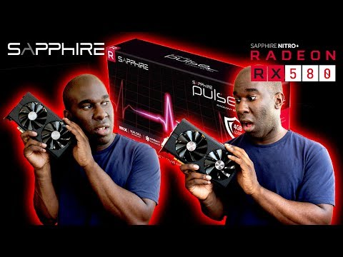 Sapphire Rx 580 Pulse Radeon Graphics Card Review Youtube