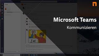 Microsoft Teams Tutorial - Kommunİzieren (2020 - deutsch)
