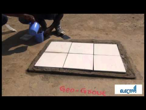 Geo Grout Application