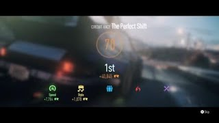 The perfect shift - Need for speed