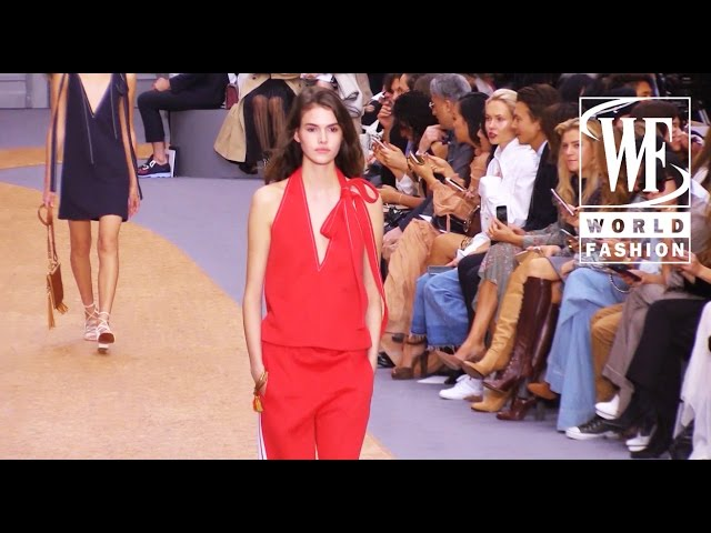 Front Row Chloe Spring-Summer 2016 Paris Fashion Week