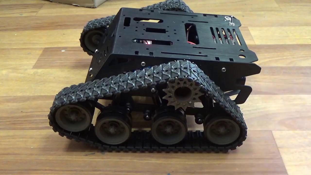 Metal DC Gear Motor DFROBOT Devastator Tank Mobile Robot Platform