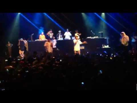 Earl Sweatshirt LIVE 7/26/2012 Assmilk, Couch, Pigeons (Tyler Creator, EarlWolf, Best Buy New York)