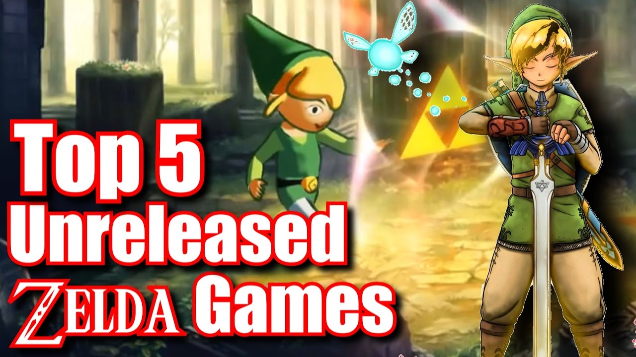 Top 5 Unreleased Or Cancelled Zelda Games Youtube