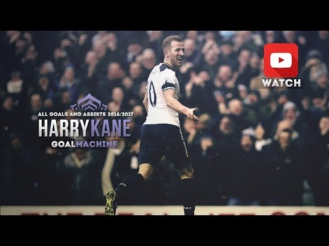 Harry Kane - GoalMachine 2016-2017 (Goals & Assists)/English Commentary