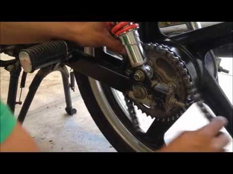 Como Reemplazar, Cortar y Ajustar Cadena de Motocicleta FT
