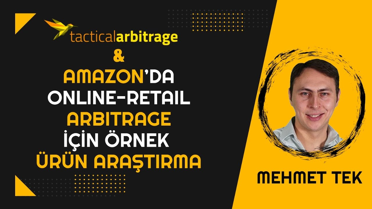 Download TACTICAL ARBITRAGE PROGRAMI NASIL KULLANILIR? (Online - Retail Arbitraj )