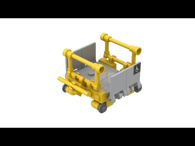 LEGO® Wheelchair Mobility Lifter at Swiss Railway Stations with Instructions