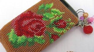 Волшебные чехлы из бисера для телефона. Разные варианты чехлов из бисера для телефона