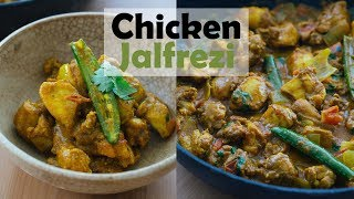 Easy Chicken Jalfrezi Recipe | Low Carb Indian Food