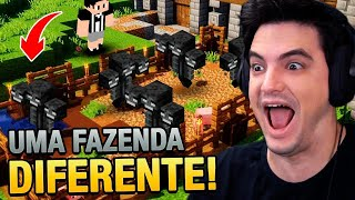 CRIEI UMA FARM DE WITHER NO MINECRAFT #80