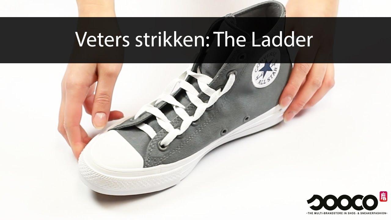 vans schoenen strikken