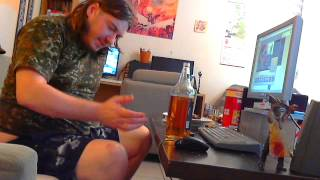Zakk Wylde`s Hot Sauce & King Cobra Challange,can I Beat It? My Throat Burns,edition!with Rave Base