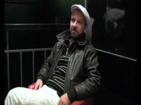 Shantel Interview Part 1 Club MiskMask 15/10/09 Train, Aarhus Denmark
