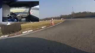 Ganzersportauto - Essai : Piste karting Biesheim 14/03/2015