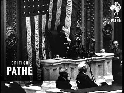 Mme. Chiang Kai Shek In U.S.A. (1943)
