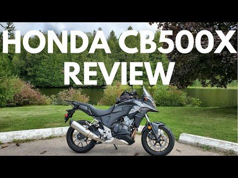 2014 Honda CB500X ABS Review | Motovlog #1